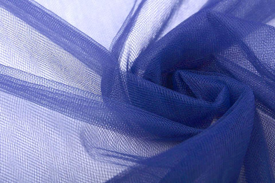 Bruids Tule Empire Blue