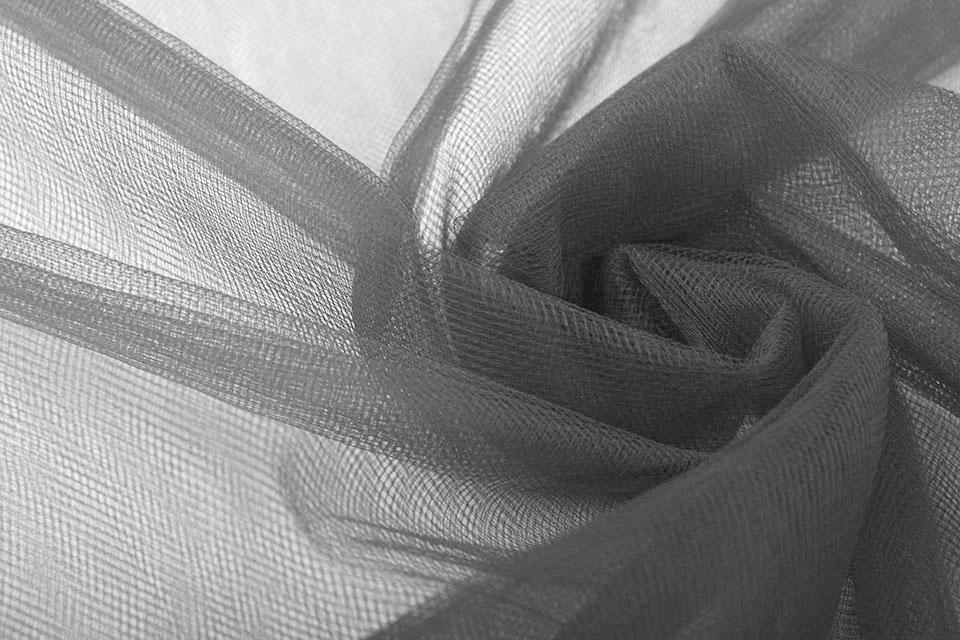 Bruids Tule Dark Grey