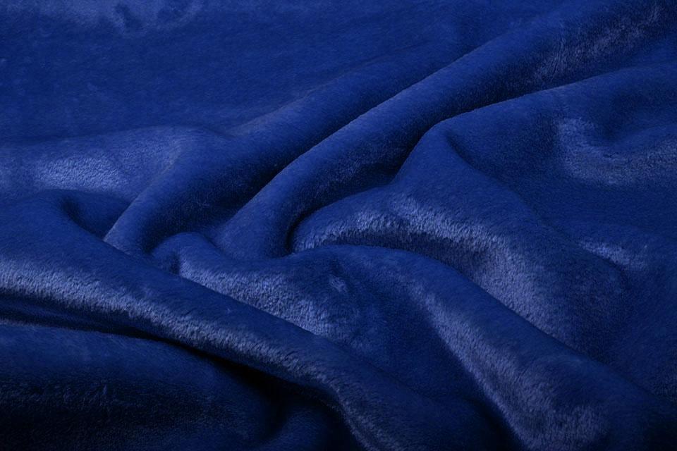 Kortharige Teddy Bont Konings Blauw