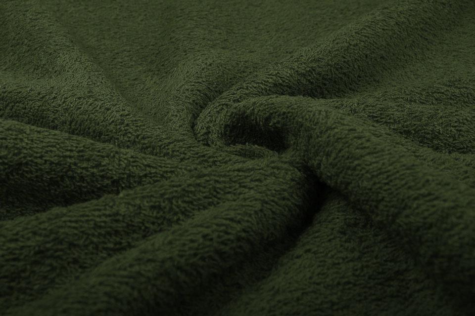 Oeko-Tex®  Badstof Army Groen