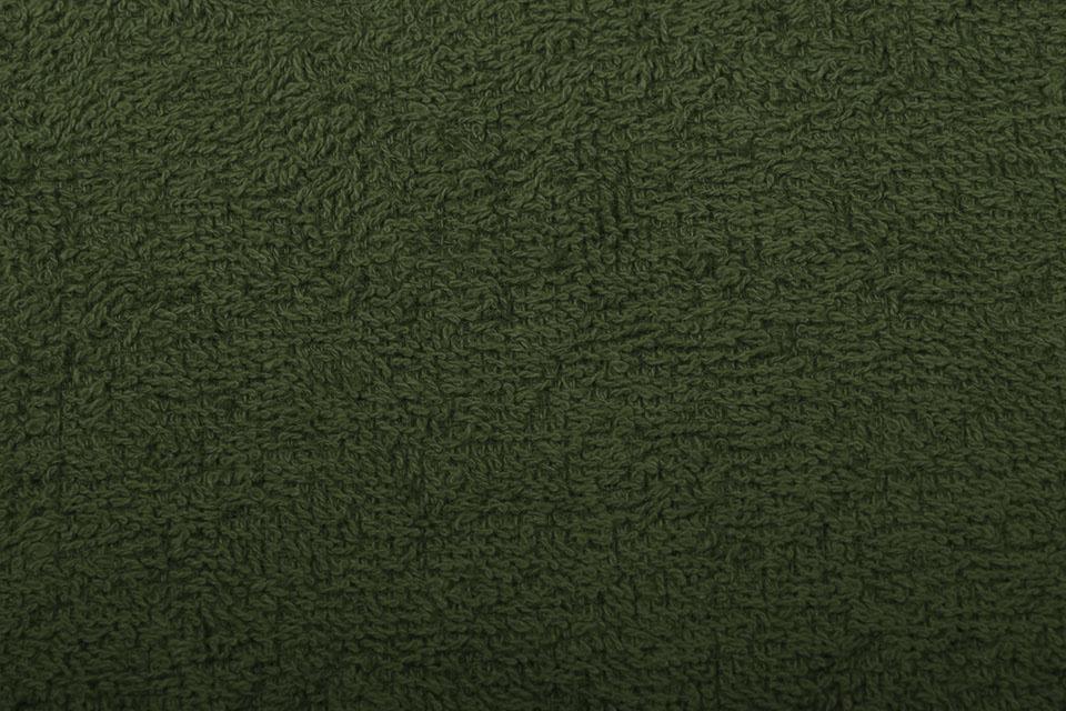 Oeko-Tex®  Frottee Armeegrün