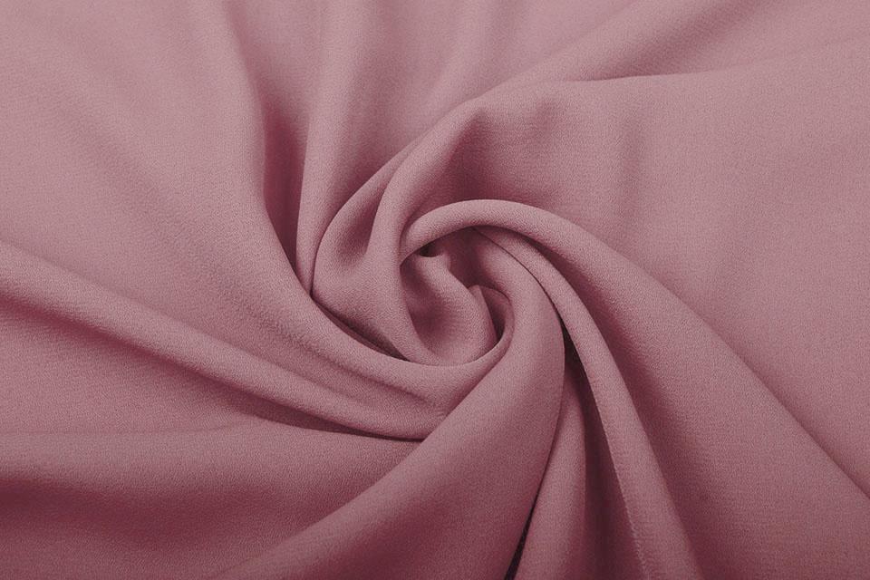 Crêpe Georgette Poeder roze