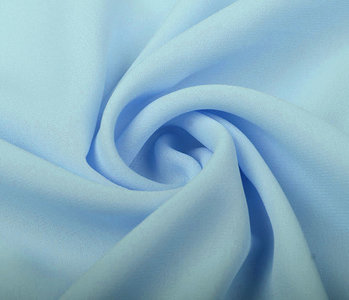 Crêpe Georgette Baby Blauw