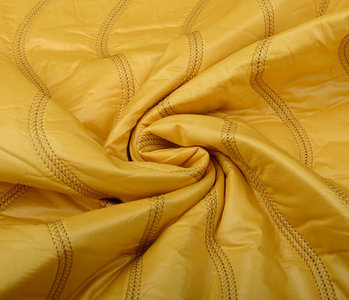 Quilted Jacketfabric Ocher