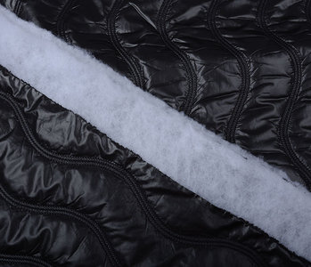 Quilted Jacketfabric Black