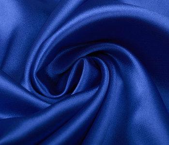 Stretch Satin Königs Blau