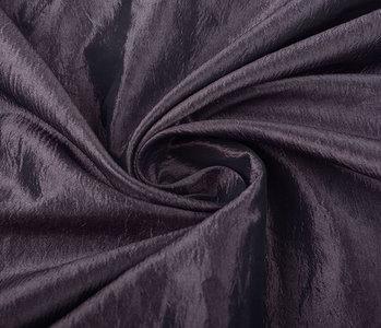 Crinkle TaftStoff Dunkel mauve