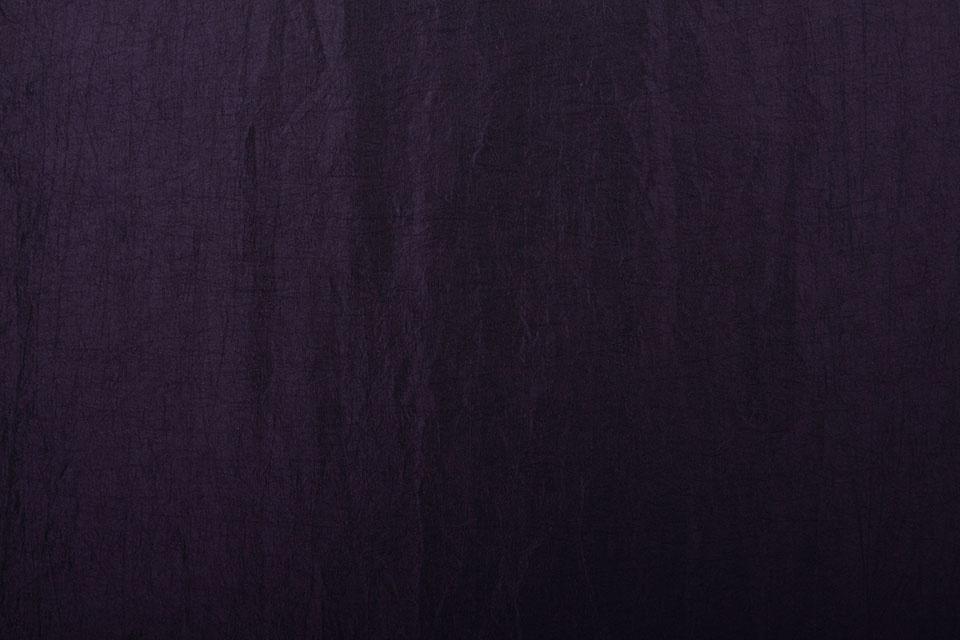 Crinkle Taft Donker aubergine