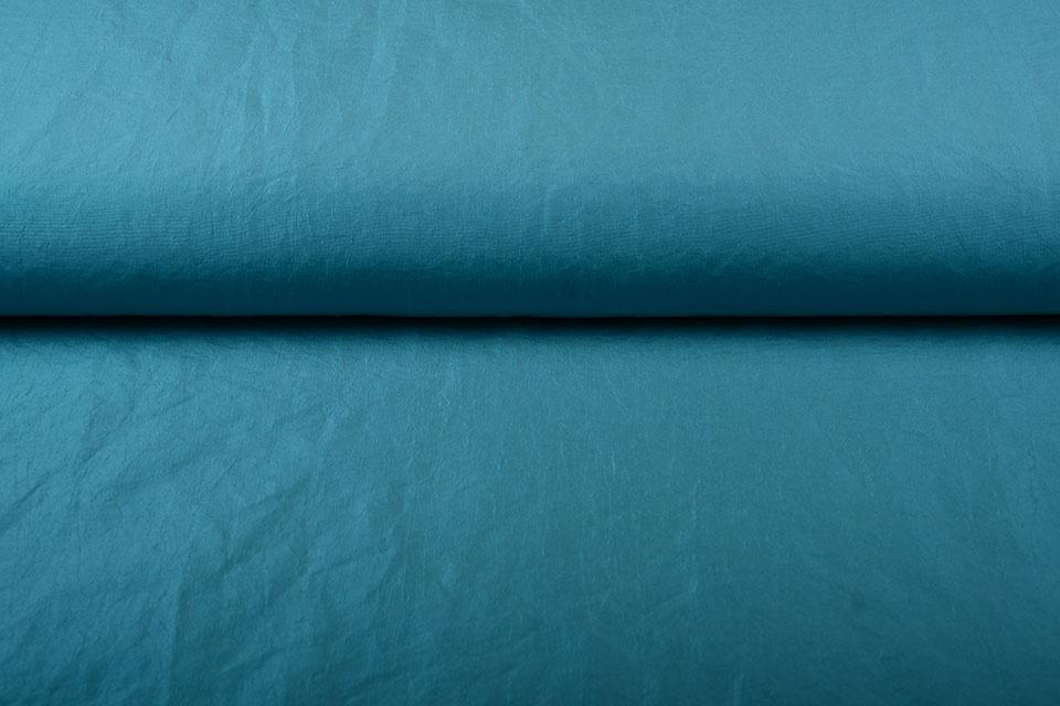Crinkle Taft Aqua