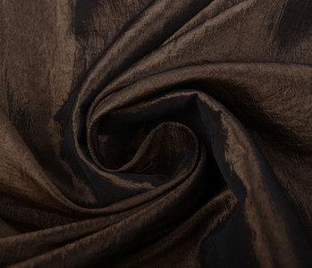 Crinkle Taft brown