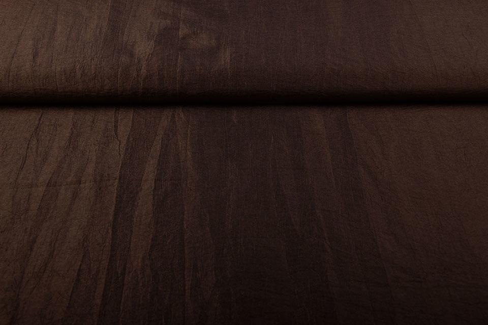 Crinkle TaftStoff Braun