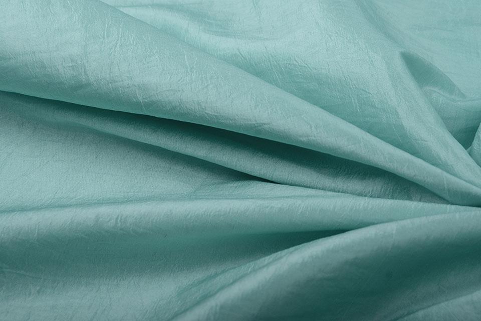 Crinkle Taft Mint groen