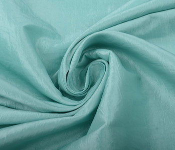 Crinkle TaftStoff Mint Grün