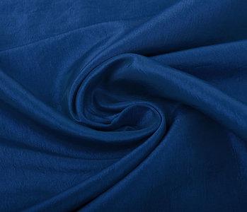 Crinkle Taft Kobaltblauw
