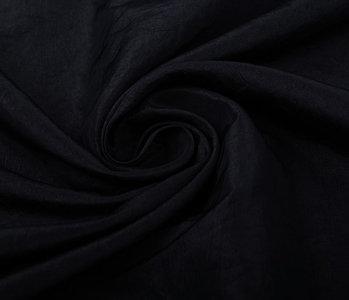 Crinkle Taft Black