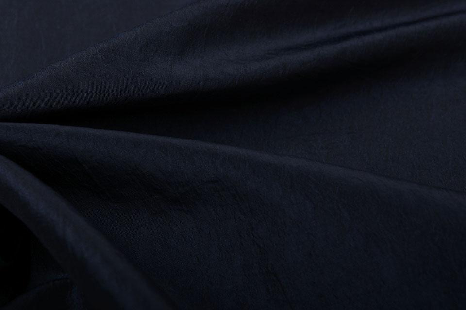 Crinkle TaftStoff Dunkel marine