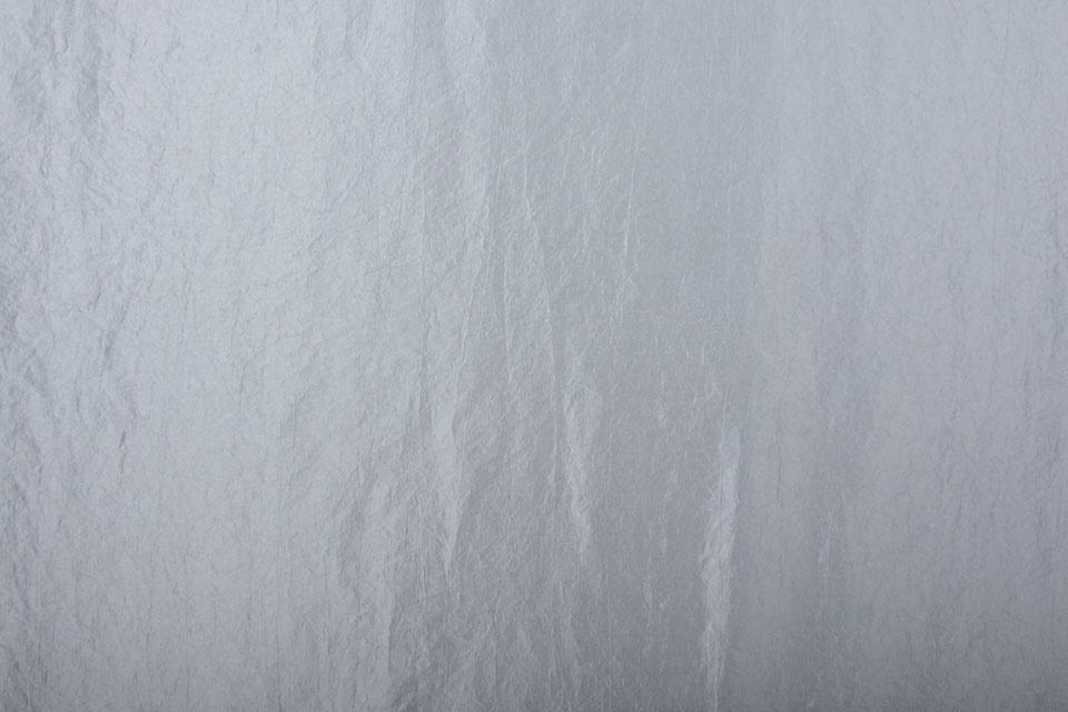 Crinkle TaftStoff Zilver