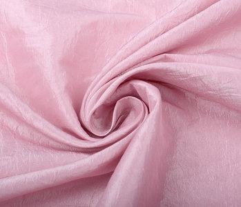 Crinkle Taft Licht Roze