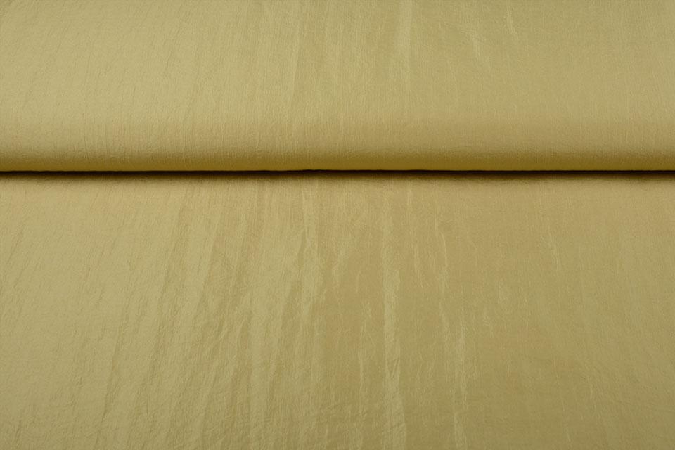 Crinkle TaftStoff gold