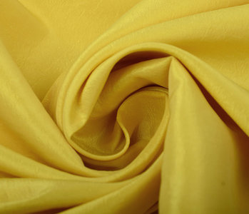 Crinkle TaftStoff Gelb