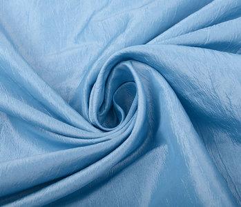 Crinkle TaftStoff Baby Blau