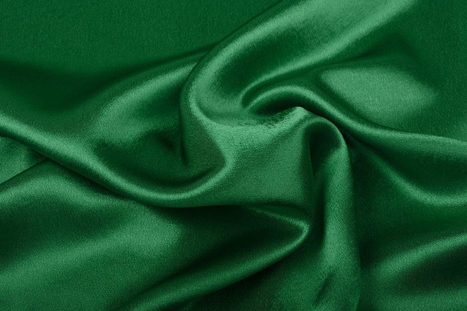 Crêpe Satijn Groen