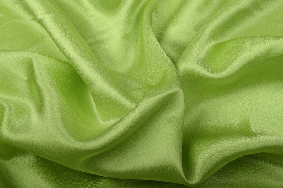 Crêpe Satin Lime