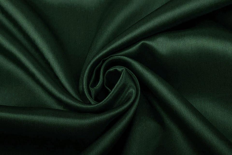 Crêpe Satijn Donker groen