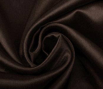 Crêpe Satin Dark brown