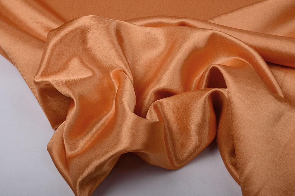 Crêpe Satijn Oranje