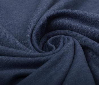 Oeko-Tex®  French Terry Jeans Meliert