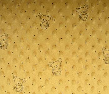 Koala Minky-Fleece Ocker