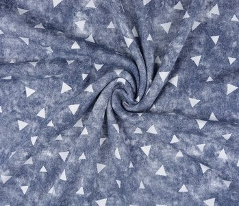 Jogging Alpenfleece Triangle with shadow Jeans