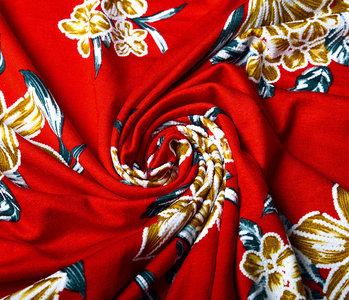 Viscose Lacquar Lule Red