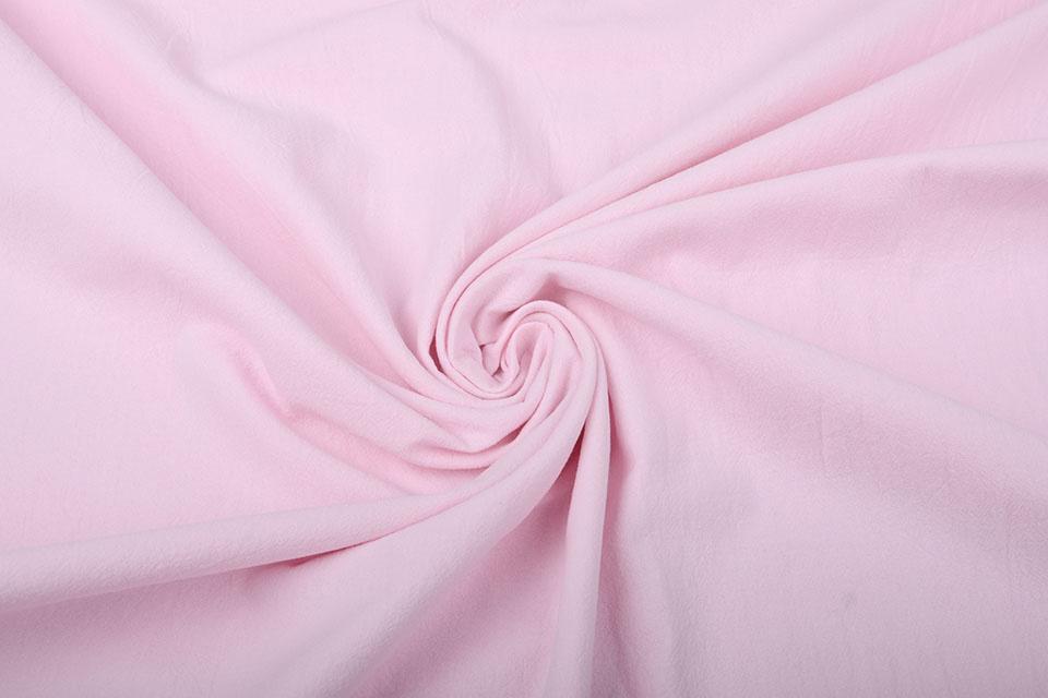 100% Gewassen Katoen Roze