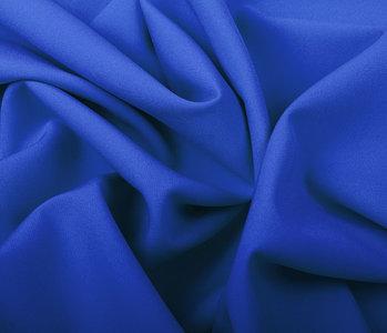 Crepe Stretch Konings Blauw