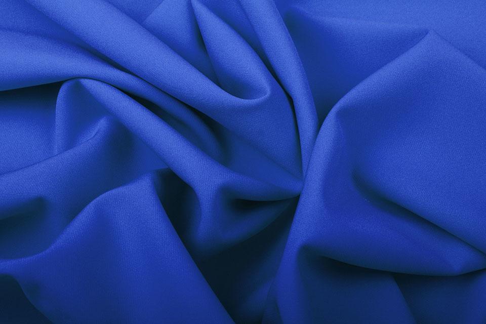 Crepe Stretch Königsblau