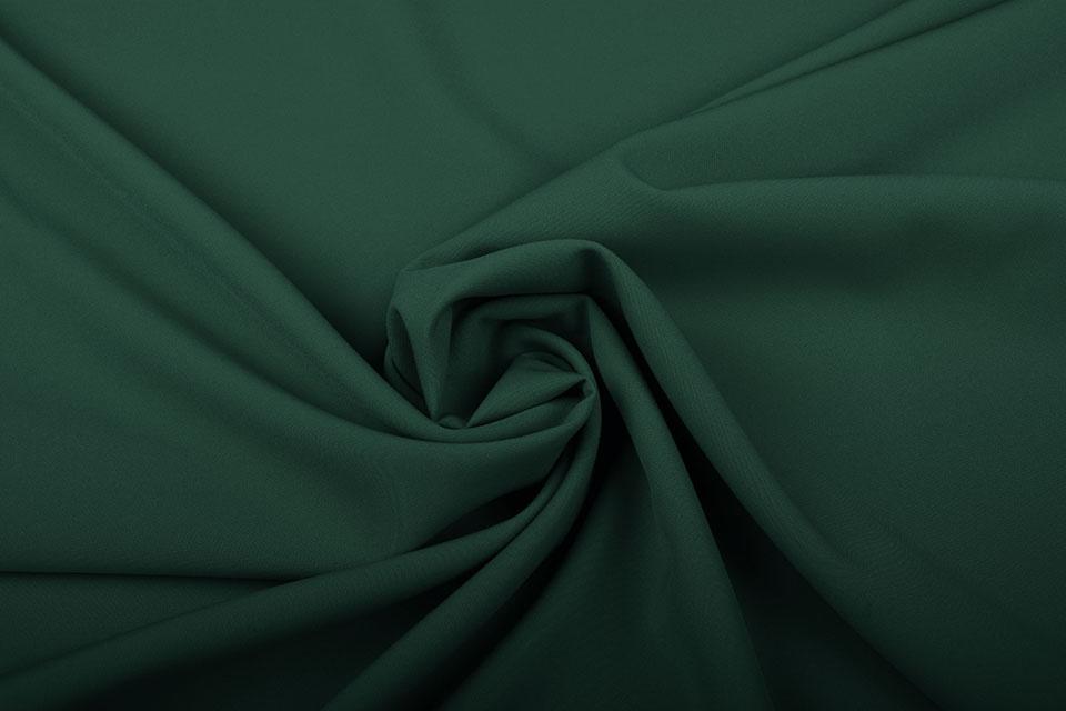 Crepe Stretch Flaschengrün
