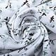 100% Gewassen Katoen Trandafiri Bloemen Oud Groen