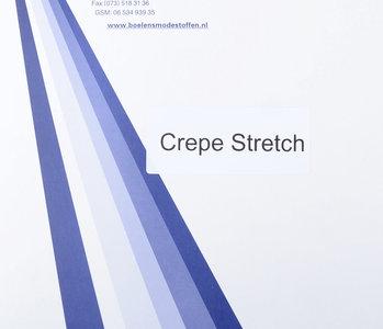 Stalenkaart Crepe Stretch