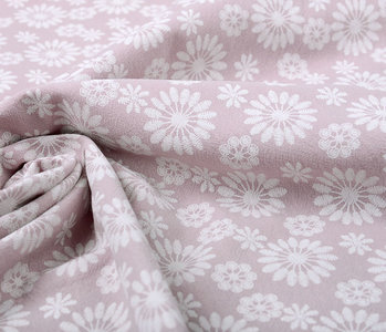 100% Gewaschene Baumwolle Bulatan Mandala Alt Lila