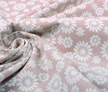 100% Gewaschene Baumwolle Bulatan Mandala Alt Rosa