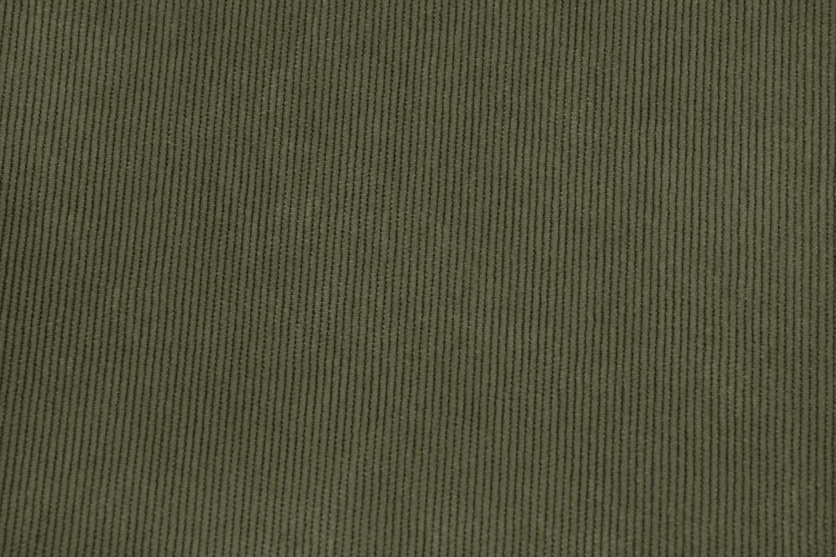 16 W Cordstoff Armygrün