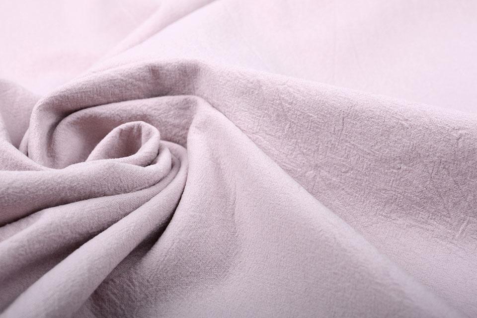 100% Gewaschene Baumwolle Alt Lila