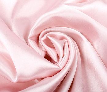 Stretch Satijn Roze