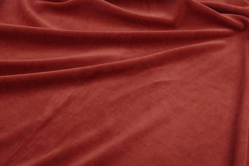 Nicki Samt Rot Brique