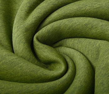 Oeko-Tex®  Sweatstoff  Limettengrün Melange
