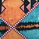 Batik Print Aqua Oranje