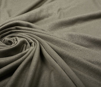 Viscose Jersey Donker Taupe