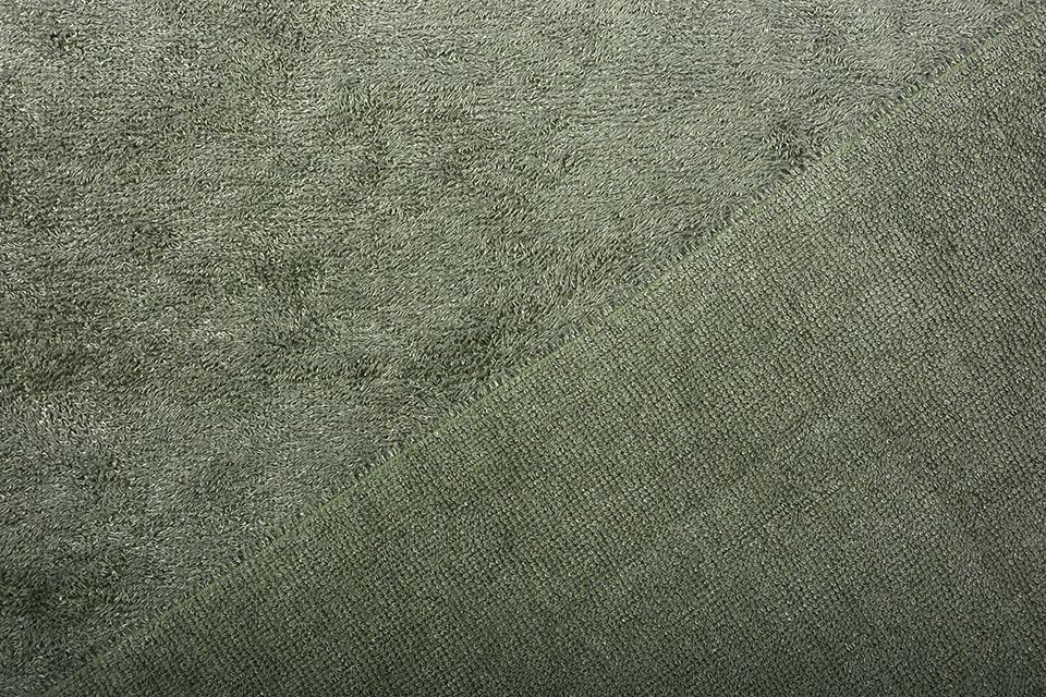 Bamboe Badstof Army Groen
